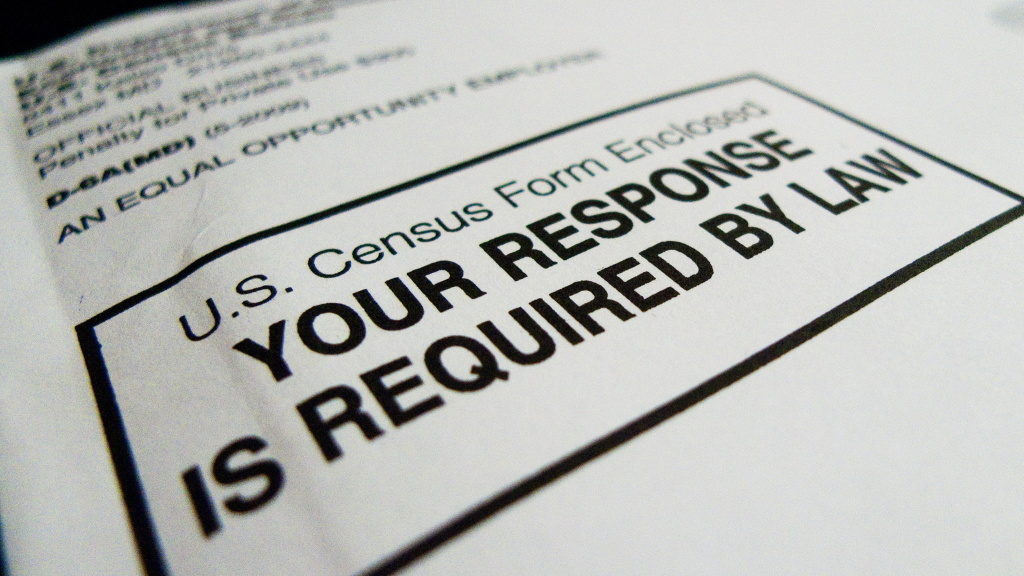 Official form the 2020 census paper questionnaires.