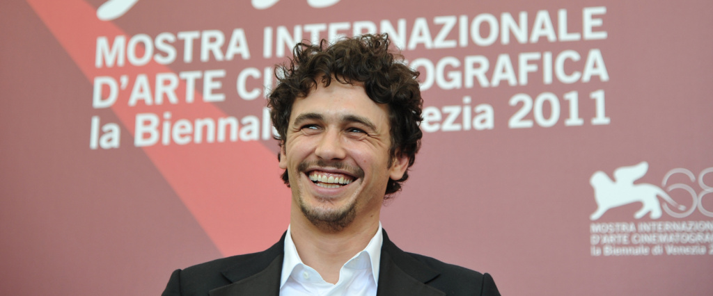 James Franco poses during the photocall of