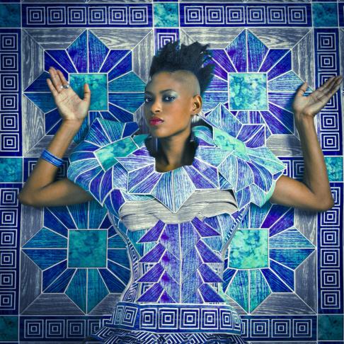 <em>Mame, </em>2014 by Omar Victor Diop.