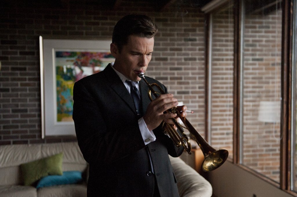 Ethan Hawke plays Chet Baker in the film