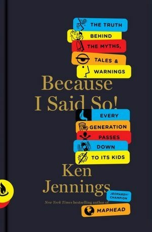 Book cover for Ken Jennings' book