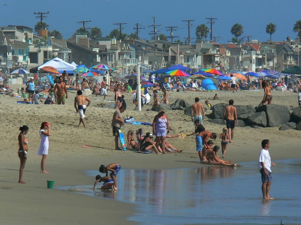 A study says climate change means more heat waves are hitting coastal areas like Newport Beach.