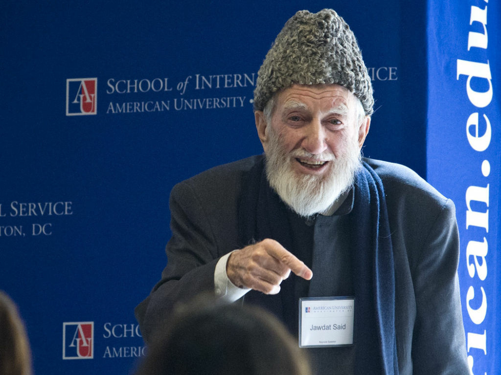 Sheik Jawdat Said, 81, has been urging nonviolent protest in Syria for decades, and has been arrested many times.