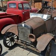 A 1920's Ford Model T was one of 69 cars auctioned earlier this week. The cars belonged to an Orange County plumber who died last year with no valid will.