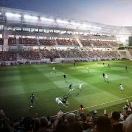 la soccer stadium