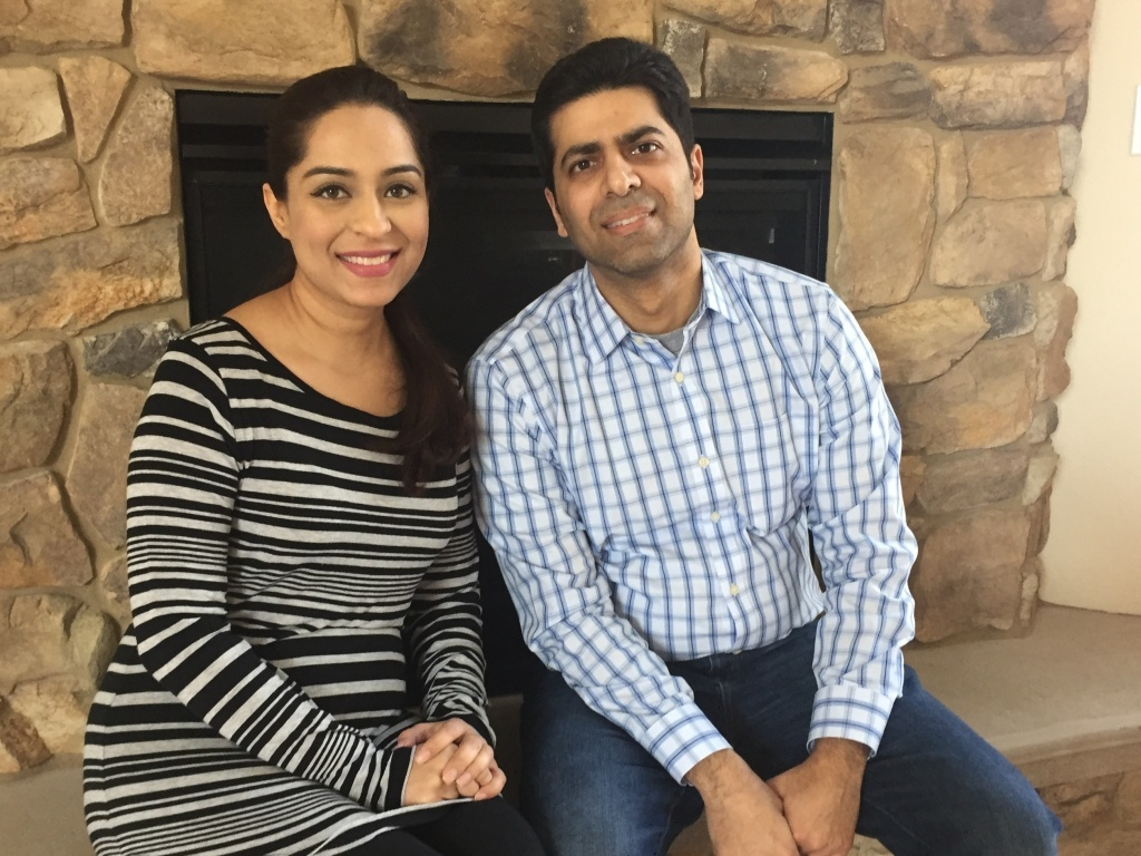 Asma Sukhera, 36, and her husband Minhaj Husain, 39, say they're appalled by the rhetoric about Muslims this campaign.
