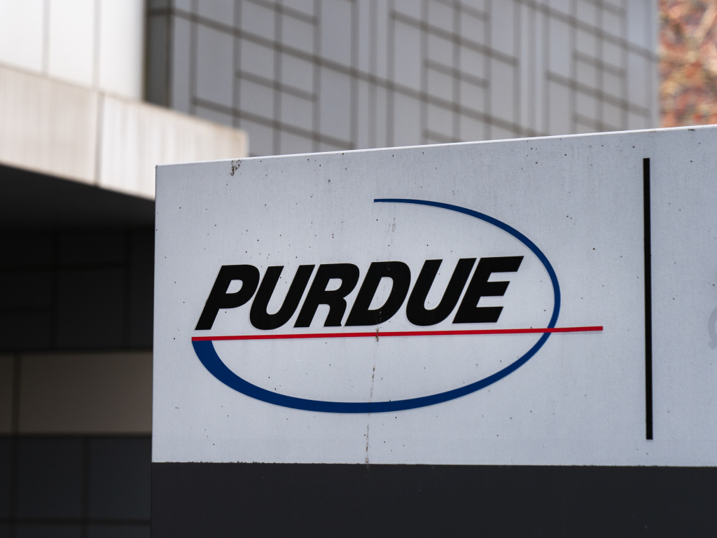 Purdue Pharma headquarters in Stamford, Conn., in 2019. Purdue Pharma, the maker of OxyContin, and its owners, the Sackler family, have faced hundreds of lawsuits over the company's alleged role in the opioid epidemic that has killed more than 200,000 Americans.