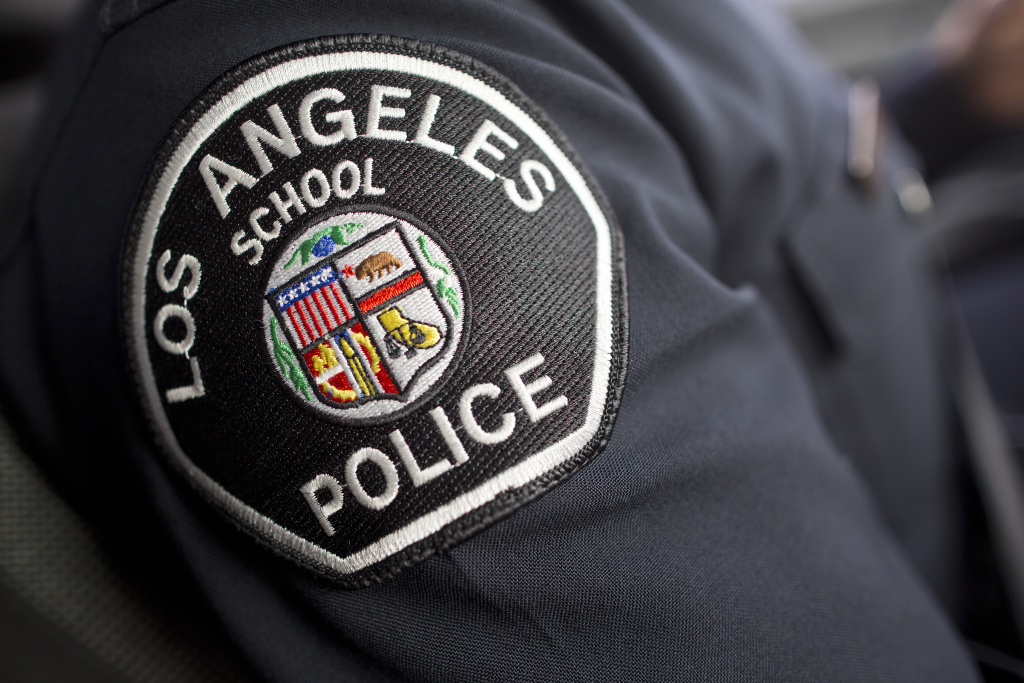 LA School Police is the largest force of its kind in the country, with over 400 sworn police officers and 100 non-sworn school safety officers.