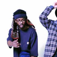 NxWorries is comprised of producer Knxwledge (left) and singer/songwriter Anderson .Paak (right).