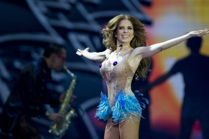 Mexican Singer Gloria Trevi Performs During The 54nd Vina Del Mar International Song Festival On March