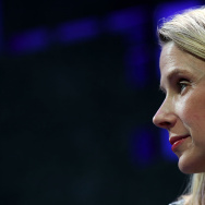 Yahoo president and CEO Marissa Mayer speaks during the Fortune Global Forum on November 3, 2015 in San Francisco, California.