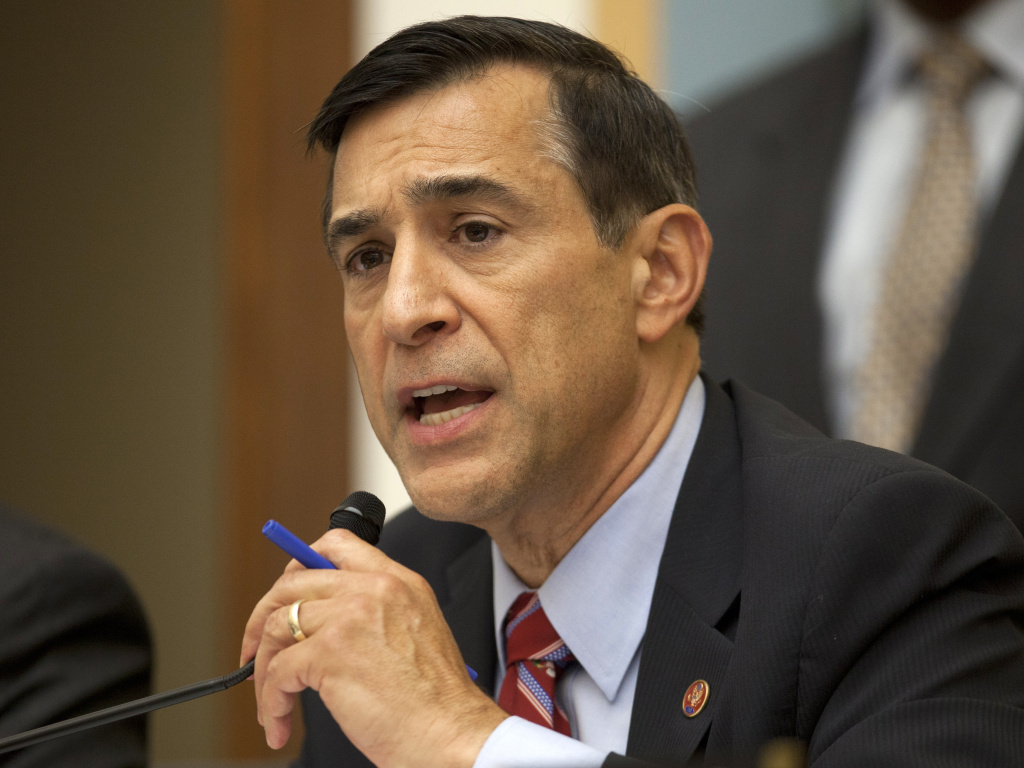 File: California Rep. Darrell Issa, chairman of the House Oversight Committee, questioning Attorney General Eric Holder last week.