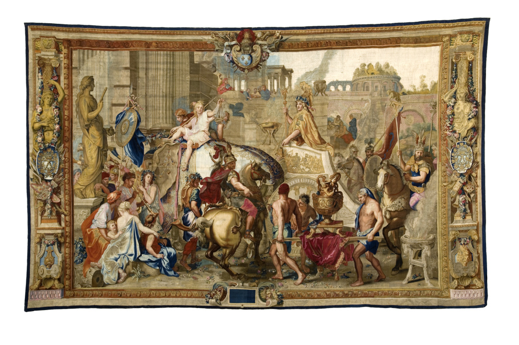 The Entry of Alexander into Babylon, about 1665 - probably by 1676. Image © Le Mobilier National.