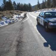 Dorner Roadblock