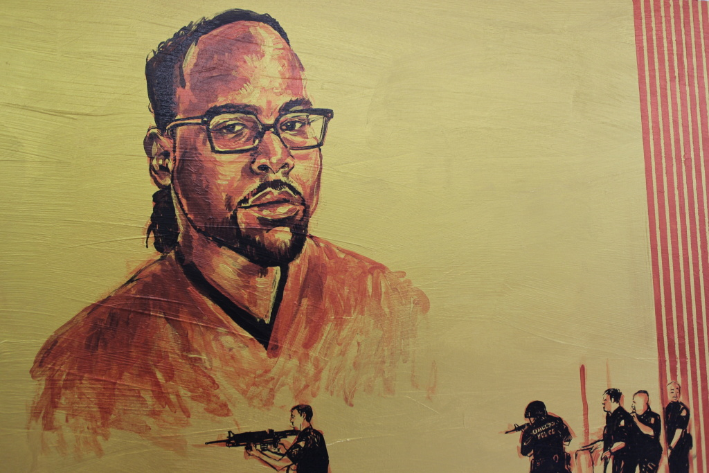 Philando Castile in a new piece in progress.