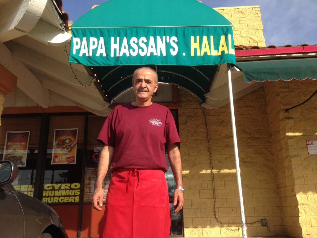 Papa Hassan's was the site of the