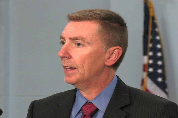 File photo of John E. Deasy, superintendent of LAUSD.