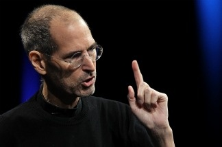 Steve Jobs delivers the keynote address at the 2011 Apple World Wide Developers Conference at the Moscone Center on June 6, 2011 in San Francisco, California.