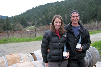 Kimberly Cabot says she and her husband, John, were having trouble expanding their winery business when their offices were located in Orleans, Calif. Simple tasks that needed to be done on the Internet took a long time on their dial-up connection.