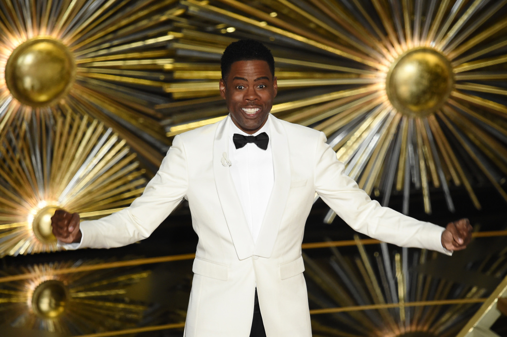 Host Chris Rock made the lack of diversity in Hollywood the main theme of his jokes throughout the Academy Awards ceremony.