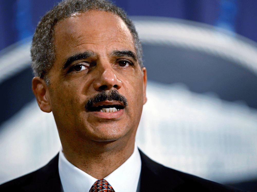 "Former U.S. Attorney General Eric Holder has been hired by the California Legislature to advise them in their ""efforts to resist any attempts to roll back the progress California has made."""