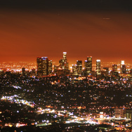 la skyline los angeles city dtla downtown