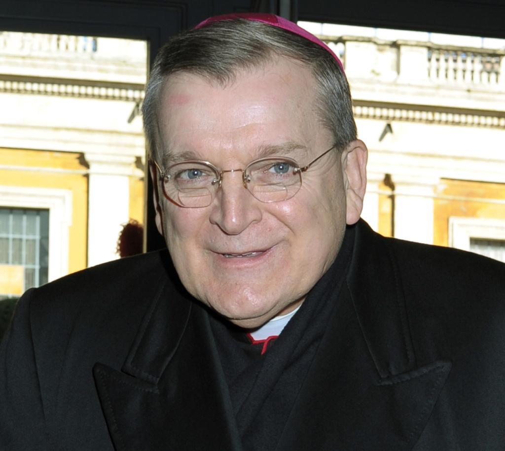 Bishop Raymond Leo Burke.
