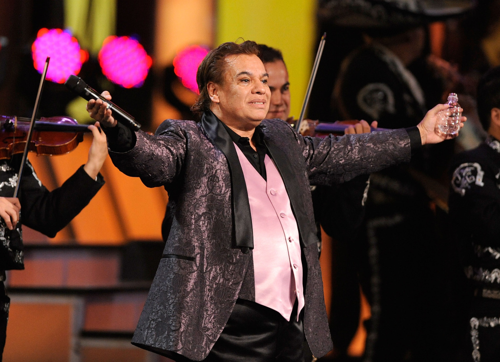 Singer Juan Gabriel performs onstage during the 10th annual Latin Grammy Awards held at Mandalay Bay Events Center on Nov. 5, 2009 in Las Vegas.