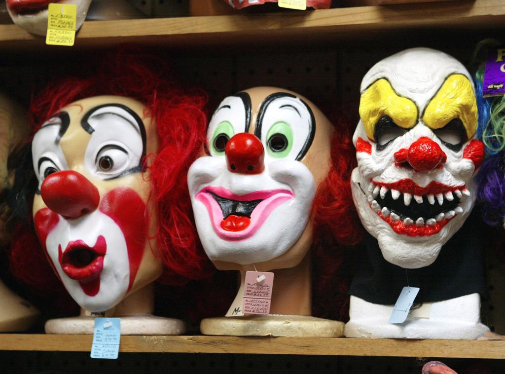 Consumers prepare for Halloween.