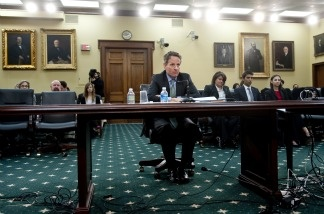 US Secretary of Treasury Tim Geithner testifies before House Appropriations Subcommittee on State, Foreign Operations and Related Programs on the Department of Treasury's 2012 budget requests for international programs on March 9, 2011.