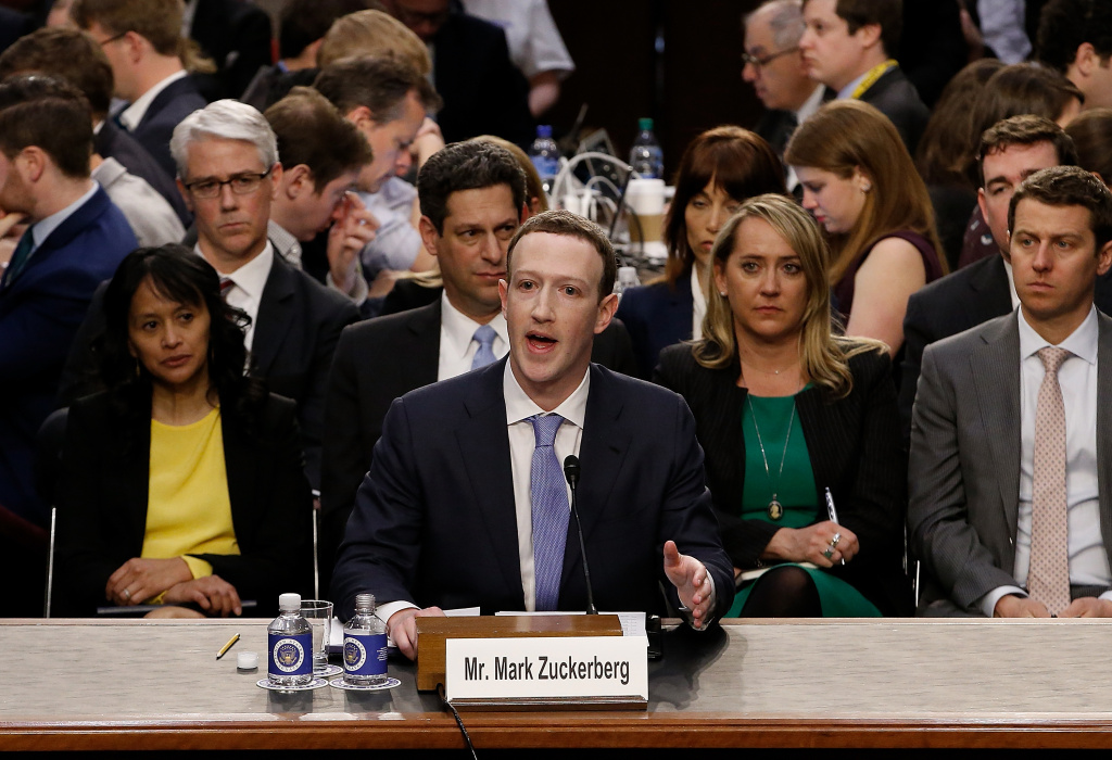 Facebook co-founder Mark Zuckerberg was called in to testify before a Senate committee hearing after it was reported that 87 million Facebook users had their personal information harvested by Cambridge Analytica.