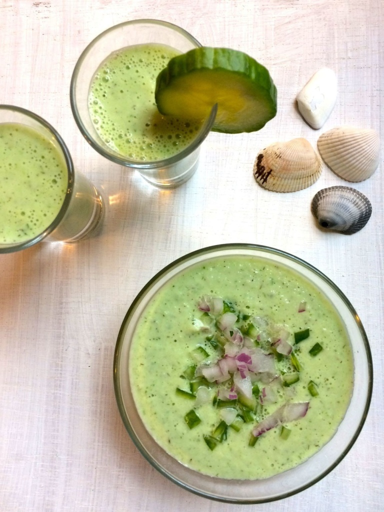 Aunt Josephine's chilled cucumber soup should be avoided at all costs — but not chilled cucumber soup in general.
