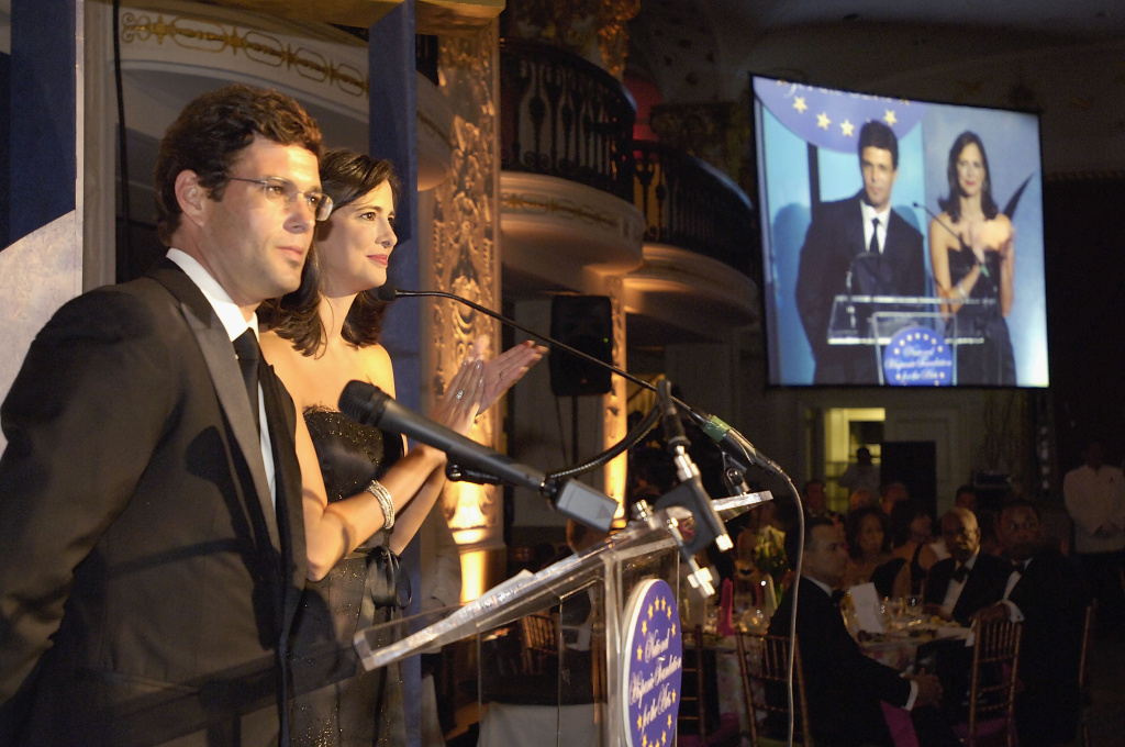 Carlos Bernard and Isabel Gonzalez give credit to fellow Hispanic professionals at a gala for the National Hispanic Foundation For The Arts. That's one of only a select few foundations designed to receive charitable funds specifically for Latinos, according to the group Hispanics in Philanthropy.