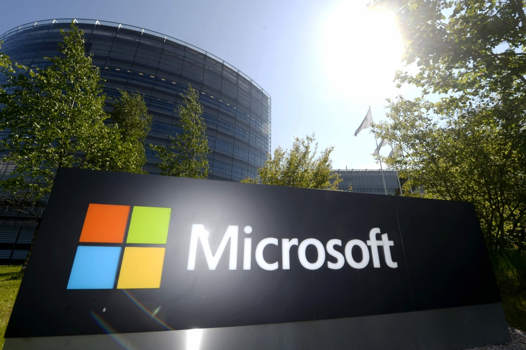 This picture taken on on May 25, 2016 shows Microsoft's Finnish headquarters in Espoo. Microsoft Corp. is paying $196 for each share of LinkedIn Corp., a 50 percent premium of the stock's closing price of $131.08 on Friday, in a deal valued at $26.2 billion.