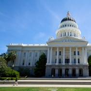 California State Capitol in Sacramento.