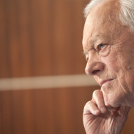 Bob Schieffer on the set of Face the Nation in September.