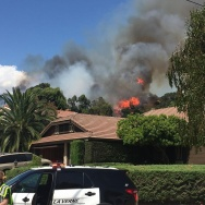 Rodeo Fire in La Verne