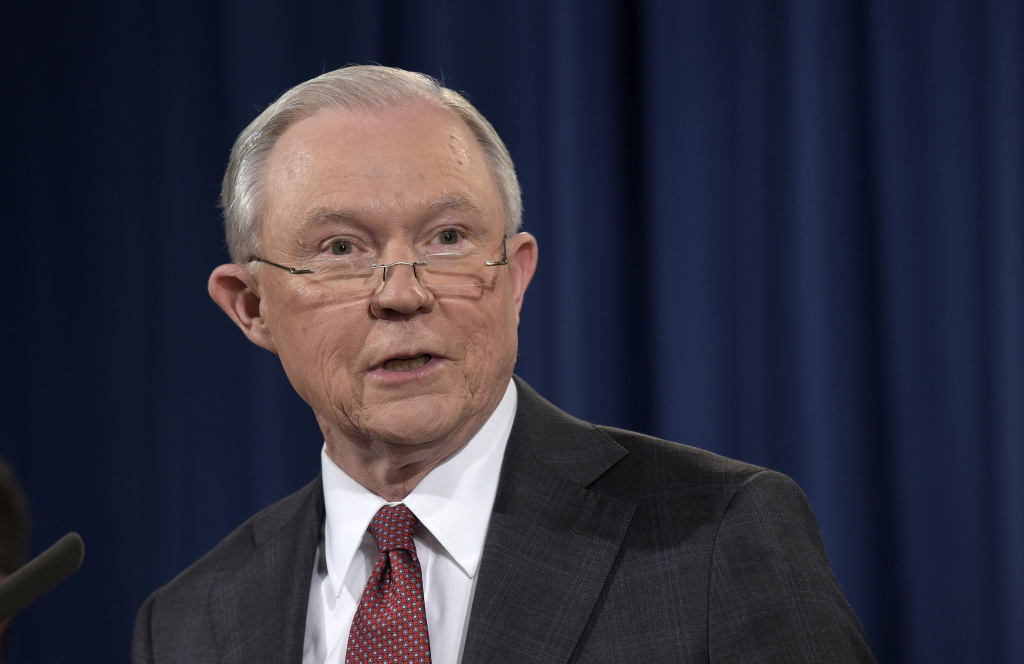 FILE PHOTO: Attorney General Jeff Sessions this week issued a memo to federal prosecutors urging them to make certain immigration offenses