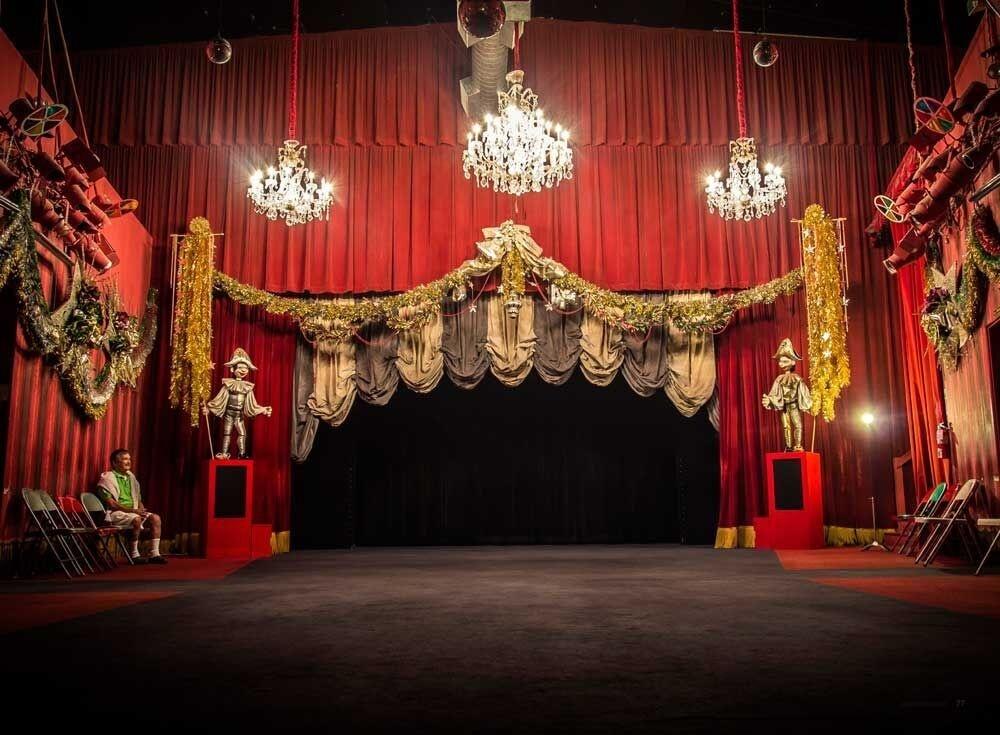 Bob Baker day marionette theater.