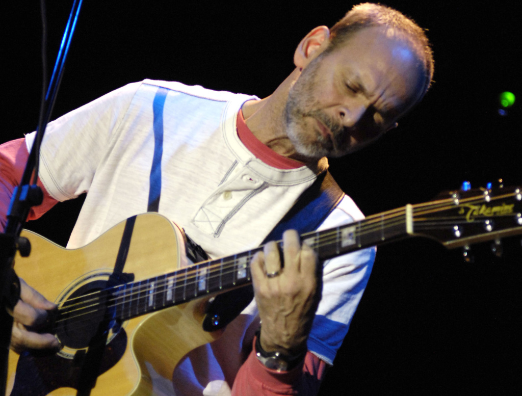 Wayne Kramer of MC5 performs as part of the 10th Anniversary Benefit Supporting Road Recovery at the Nokia Theater in TImes Square on April 17, 2008 in New York City.