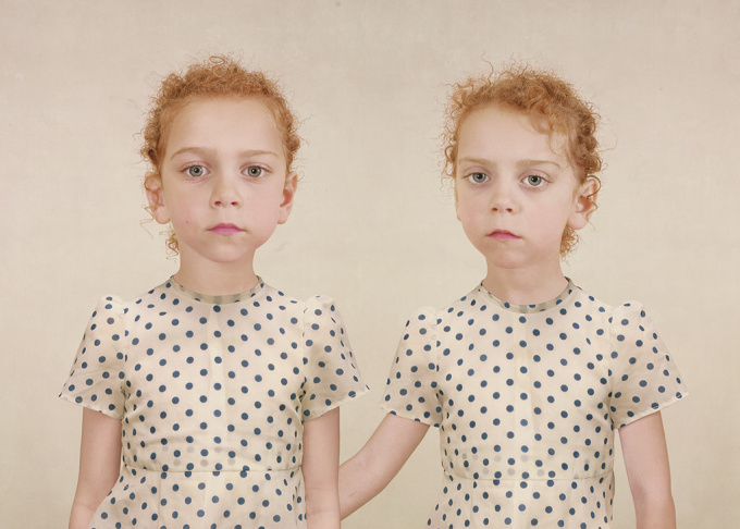 Sasha and Ruby, 2005, Loretta Lux, cibachrome print. The J. Paul Getty Museum. © 2014 Artists Rights Society (ARS), New York/VG Bild-Kunst, Bonn