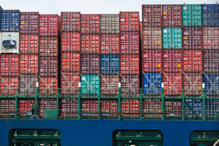 Cargo on the Hyundai Faith's ship will be unloaded at The Port of Los Angeles.