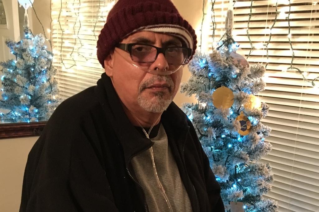 Michael Alva at home in Paramount.