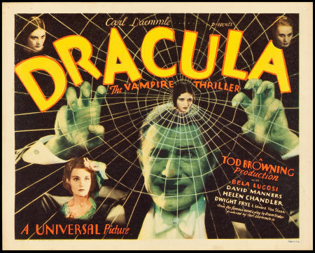 Dracula (Universal, 1931). Title Lobby Card (11