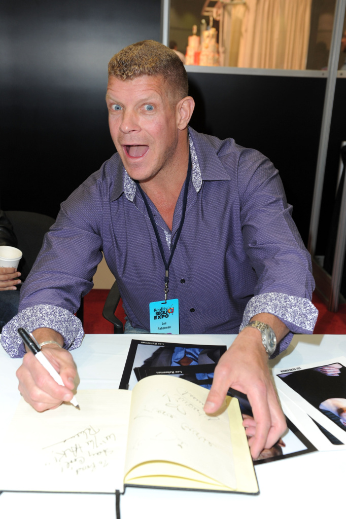 TV personality Lee Reherman attends Reality Rocks Expo - Day 1 at the Los Angeles Convention Center on April 9, 2011 in Los Angeles, California.