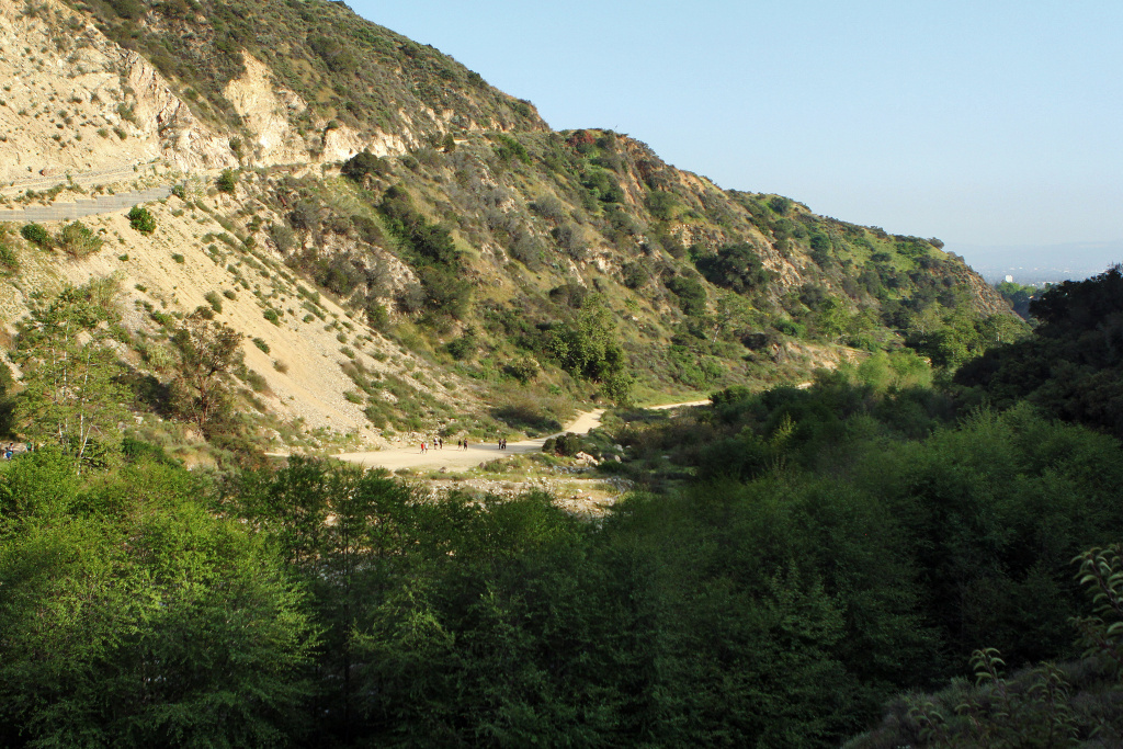 A view overlooking Eaton Canyon Park on Wednesday afternoon, March 27.