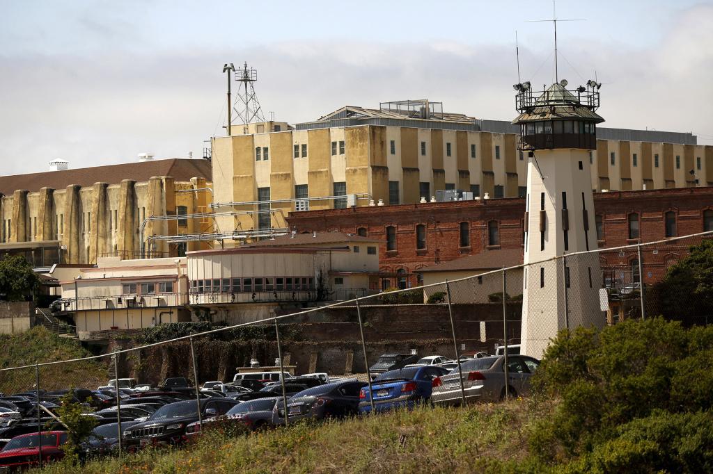 San Quentin State Prison in California.