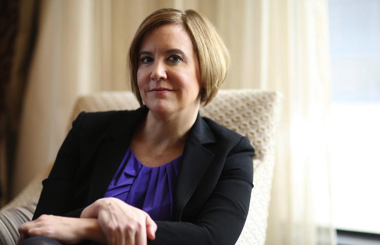 Former Chicago Tribune reporter Kim Barker in Chicago doing publicity for the movie