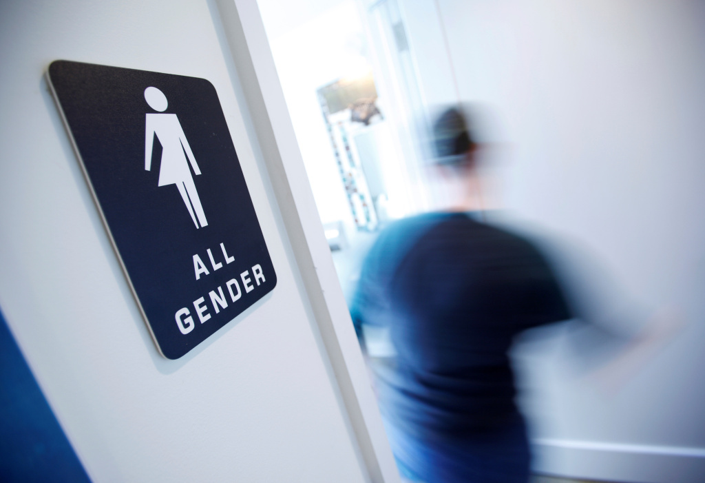 FILE: Transgender men and women will see expanded workplace protections due to a new law that goes into effect on Jan. 1, 2018.