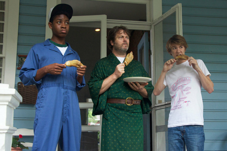 "RJ Cyler, left, and Thomas Mann star in ""Me and Earl and the Dying Girl,"" which became a hot property at the 2015 Sundance Film Festival."